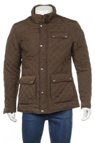 Мъжко яке Cotton&silk, Размер M, Цвят Кафяв, Полиестер, Цена 30,87лв.