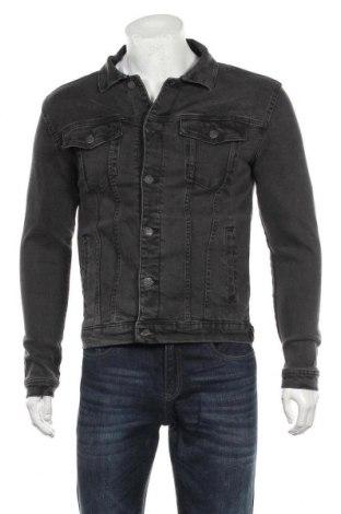 Мъжко яке Denim Project, Размер S, Цвят Сив, 99% памук, 1% еластан, Цена 38,27лв.
