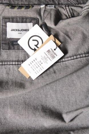 Мъжко яке Jack & Jones, Размер S, Цвят Сив, Памук, Цена 54,45лв.