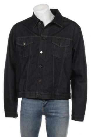Мъжко яке Lagerfeld, Размер XL, Цвят Син, 68% памук, 32% полиестер, Цена 26,46лв.