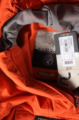 Мъжко яке Napapijri, Размер L, Цвят Оранжев, 100% полиамид, Цена 148,05лв.