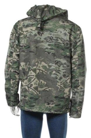 Мъжко яке Napapijri, Размер L, Цвят Зелен, 100% полиестер, Цена 246,75лв.