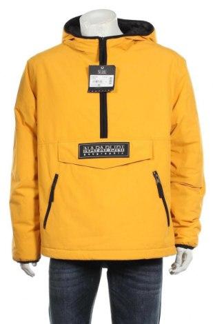 Мъжко яке Napapijri, Размер L, Цвят Жълт, Полиамид, Цена 336,75лв.