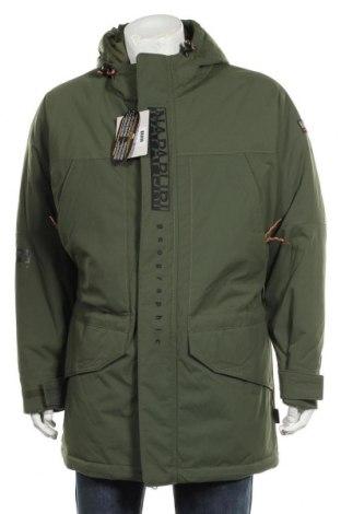 Мъжко яке Napapijri, Размер L, Цвят Зелен, Полиамид, Цена 449,25лв.