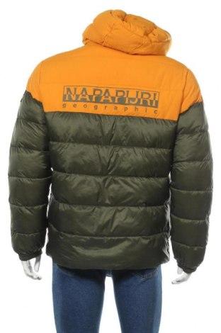 Мъжко яке Napapijri, Размер L, Цвят Зелен, Полиамид, Цена 366,75лв.