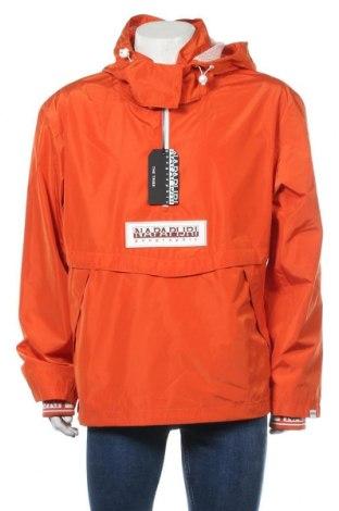 Мъжко яке Napapijri, Размер L, Цвят Оранжев, Полиестер, Цена 148,05лв.