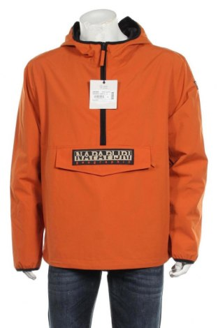 Мъжко яке Napapijri, Размер L, Цвят Оранжев, Полиамид, Цена 148,05лв.