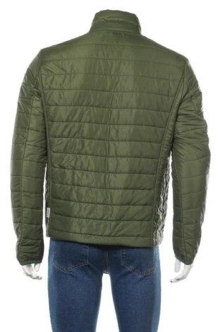 Мъжко яке Napapijri, Размер L, Цвят Зелен, Полиамид, Цена 141,47лв.