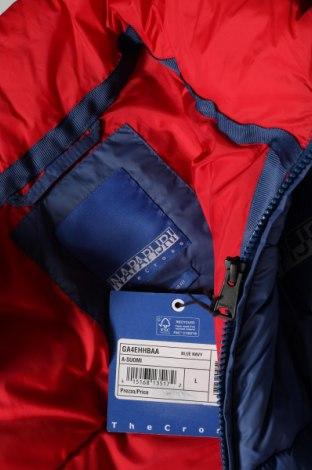 Мъжко яке Napapijri, Размер L, Цвят Син, 100% полиестер, Цена 206,55лв.