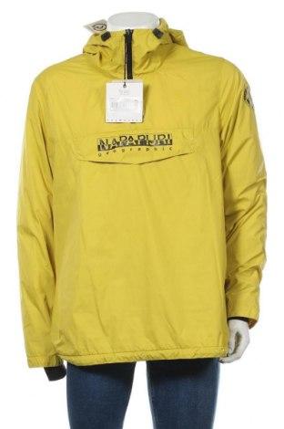 Мъжко яке Napapijri, Размер L, Цвят Жълт, Полиамид, Цена 148,05лв.