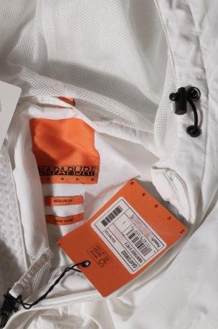 Мъжко яке Napapijri, Размер L, Цвят Бял, Полиамид, Цена 246,75лв.