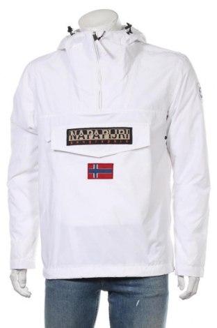 Мъжко яке Napapijri, Размер M, Цвят Бял, Полиестер, Цена 180,95лв.