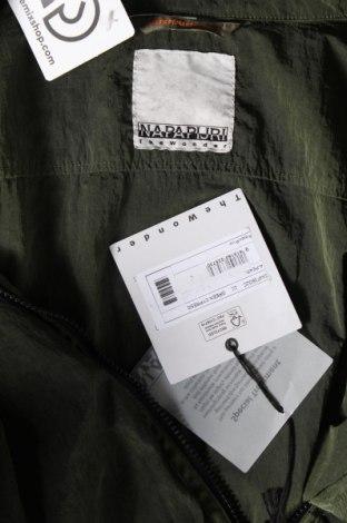 Мъжко яке Napapijri, Размер L, Цвят Зелен, Полиамид, Цена 149,50лв.