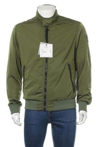 Мъжко яке Napapijri, Размер L, Цвят Зелен, Полиестер, Цена 125,02лв.