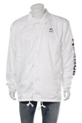 Мъжко яке Reebok, Размер L, Цвят Бял, Полиестер, Цена 62,55лв.