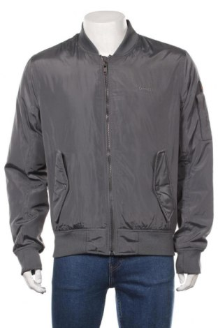 Мъжко яке Schott, Размер L, Цвят Сив, Полиестер, Цена 94,17лв.