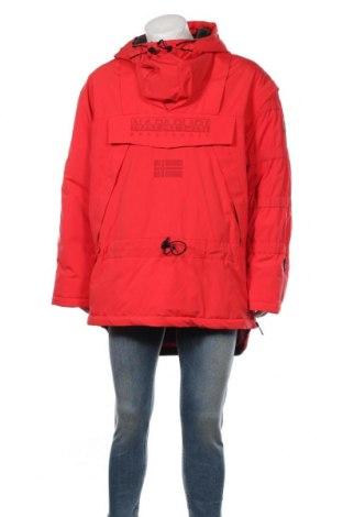 Мъжко яке за зимни спортове Napapijri, Размер L, Цвят Червен, Полиамид, Цена 317,47лв.