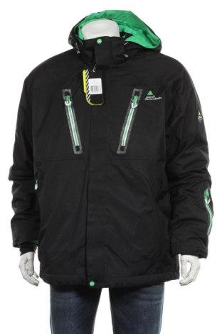 Мъжко яке за зимни спортове Peak Mountain, Размер XL, Цвят Черен, Полиамид, Цена 156,75лв.