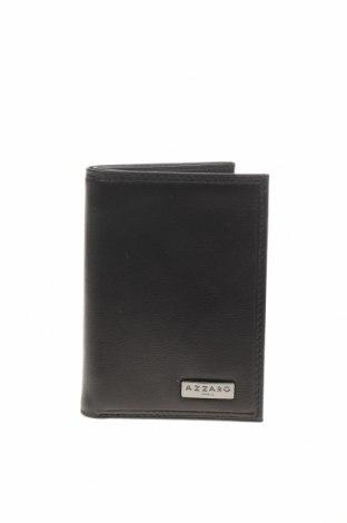 Portmoneu Azzaro, Culoare Negru, Piele naturală, Preț 318,26 Lei