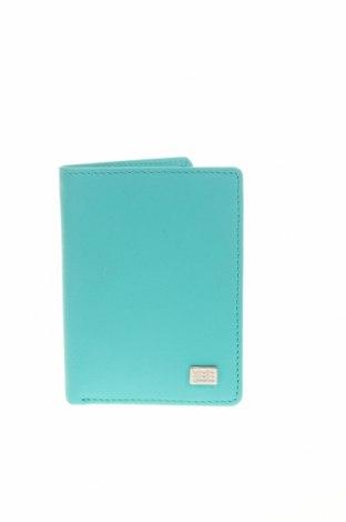 Портмоне Geox, Цвят Син, Естествена кожа, Цена 78,40лв.