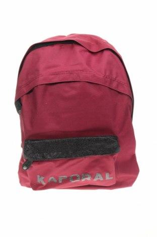 Rucsac Kaporal, Culoare Roșu, Textil, Preț 111,25 Lei