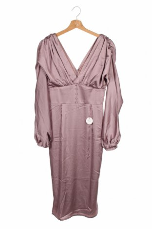 Šaty  Chi Chi, Velikost XS, Barva Fialová, 97% polyester, 3% elastan, Cena  806,00Kč