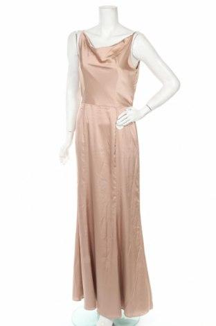 Šaty  Chi Chi, Velikost M, Barva Béžová, 97% polyester, 3% elastan, Cena  857,00Kč