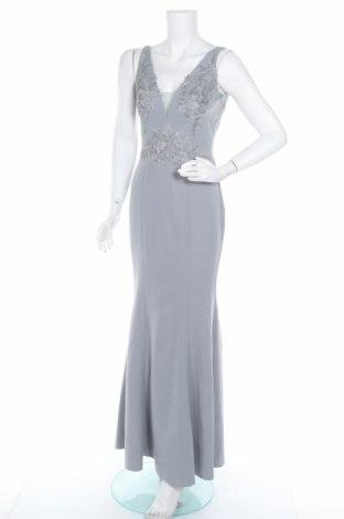 Šaty  Chi Chi, Velikost XS, Barva Modrá, 90% polyester, 10% elastan, Cena  857,00Kč