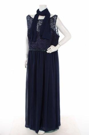 Φόρεμα Mascara, Μέγεθος 3XL, Χρώμα Μπλέ, Πολυεστέρας, Τιμή 53,40€