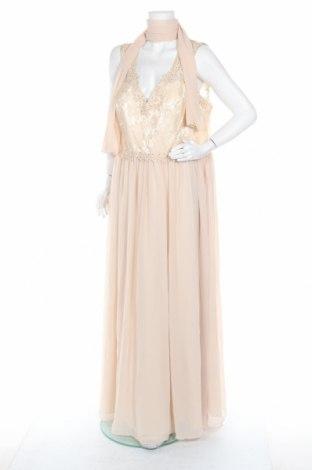 Φόρεμα Mascara, Μέγεθος 3XL, Χρώμα  Μπέζ, Πολυεστέρας, Τιμή 55,46€