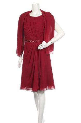 Φόρεμα Mascara, Μέγεθος XL, Χρώμα Κόκκινο, Πολυεστέρας, Τιμή 43,09€