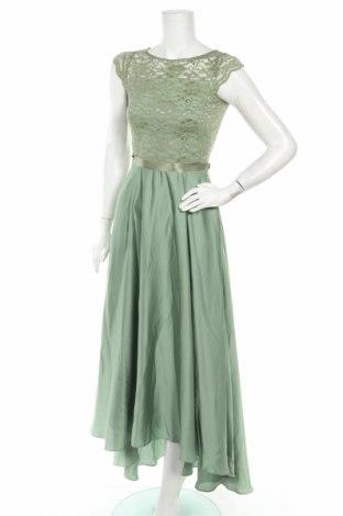 Рокля Swing, Размер XXS, Цвят Зелен, Полиестер, полиамид, еластан, Цена 129,12лв.