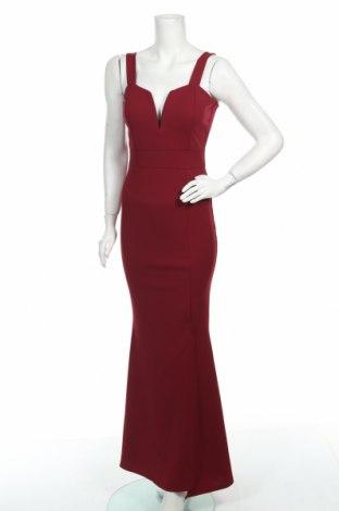 Рокля Wal G, Размер XS, Цвят Червен, 95% полиестер, 5% еластан, Цена 41,42лв.