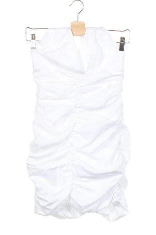 Рокля Zara, Размер S, Цвят Бял, 100% полиестер, Цена 34,22лв.