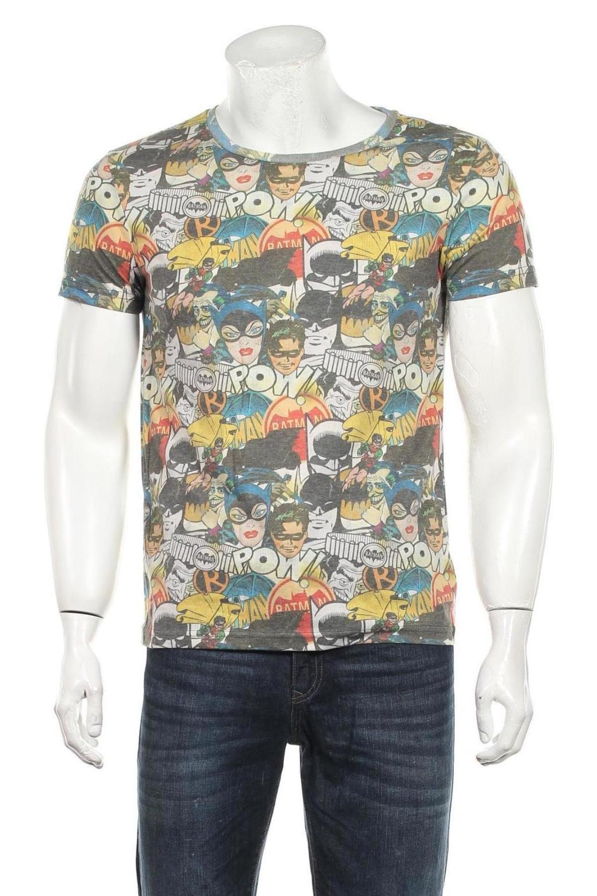 Мъжка тениска Dc Comics, Размер S, Цвят Многоцветен, 60% полиестер, 40% памук, Цена 21,75лв.