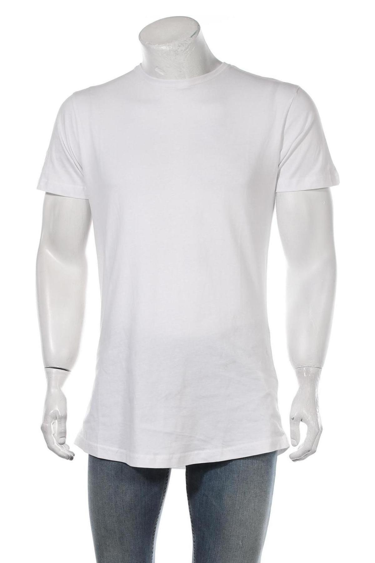 Мъжка тениска Urban Classics, Размер S, Цвят Бял, Памук, Цена 16,82лв.