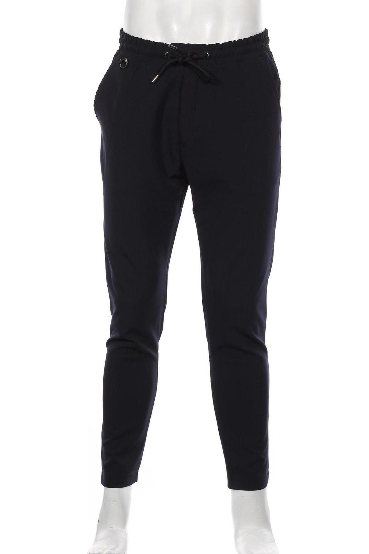 Мъжки панталон RNT23 Jeans, Размер M, Цвят Син, 95% полиестер, 5% еластан, Цена 55,47лв.