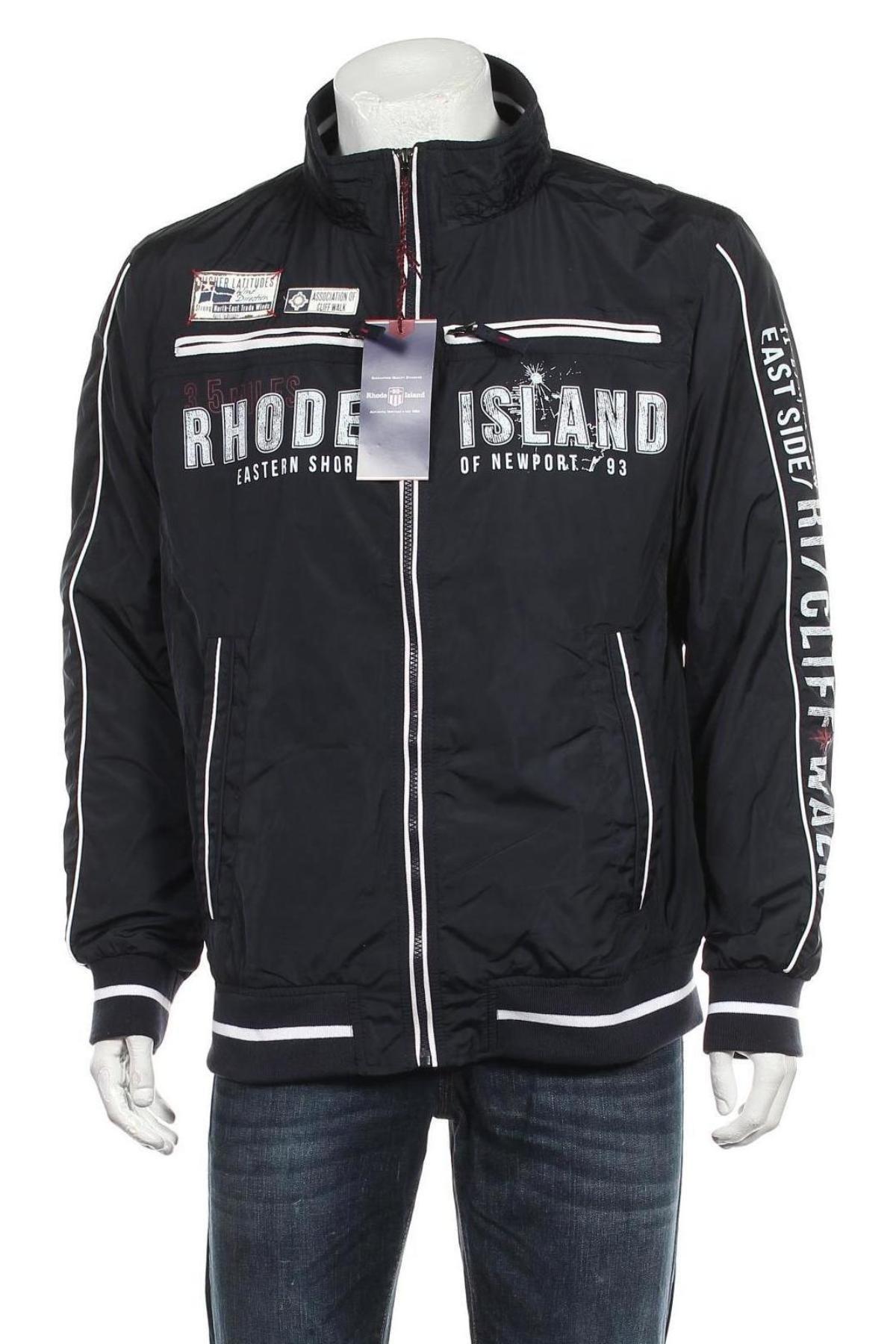 Мъжко яке Rhode Island, Размер L, Цвят Син, Полиестер, Цена 41,87лв.