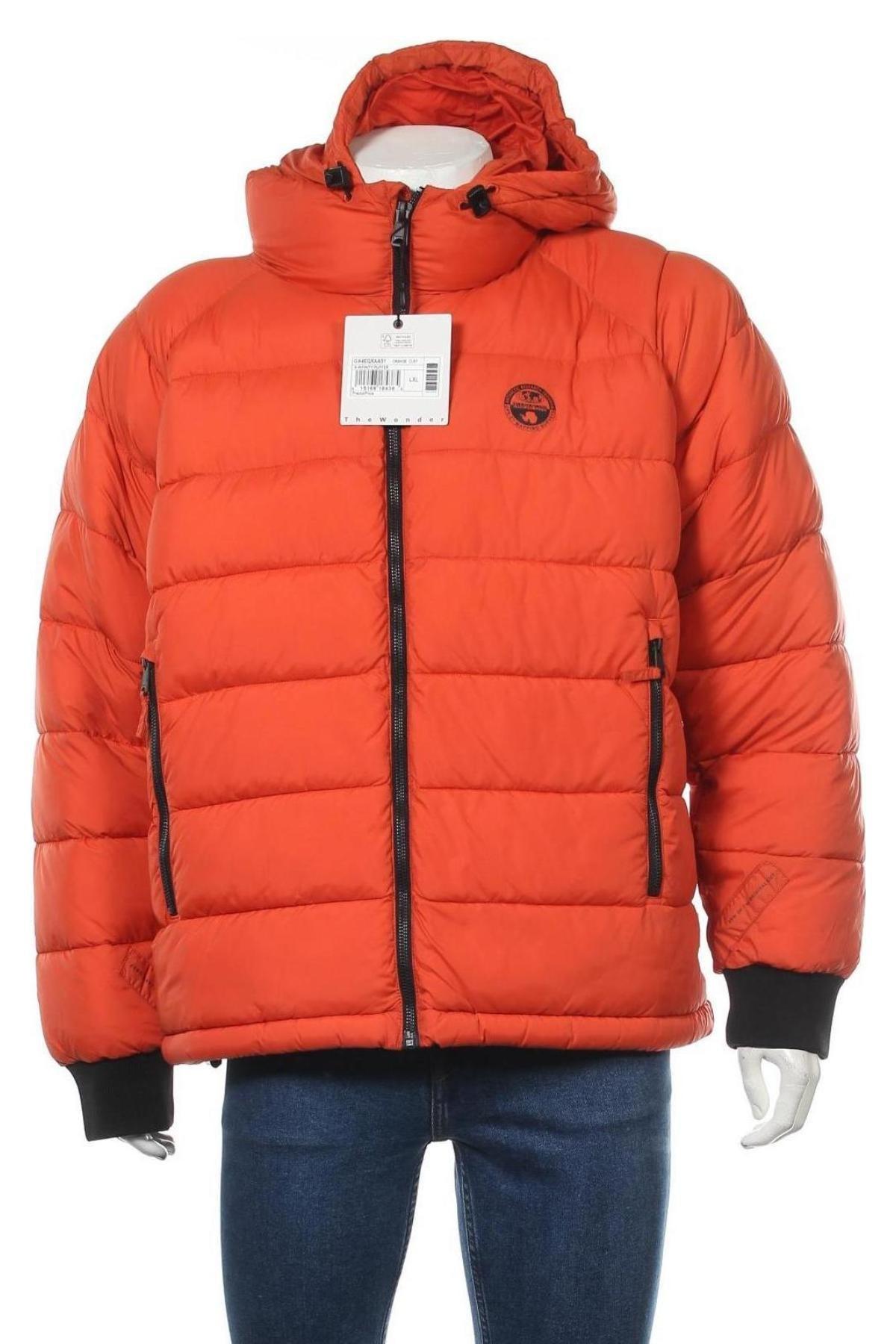 Мъжко яке Napapijri, Размер XL, Цвят Оранжев, Полиамид, Цена 396,75лв.