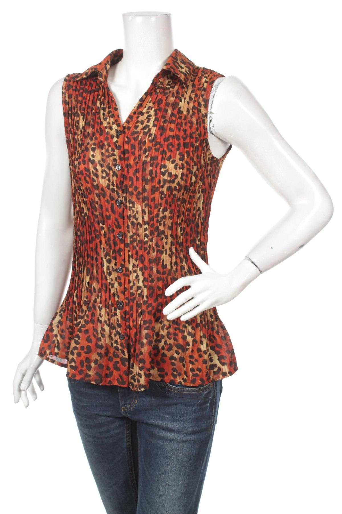 Γυναικείο πουκάμισο Studio 1940, Μέγεθος M, Χρώμα Πολύχρωμο, Πολυεστέρας, Τιμή 9,28€