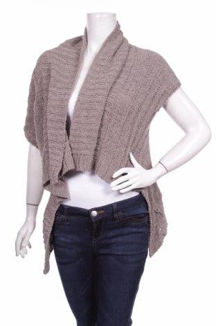 Дамска жилетка Angela Davis, Размер M, Цвят Кафяв, 44% памук, 44% акрил, 12% полиамид, Цена 15,75лв.