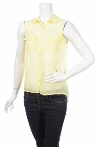Γυναικείο πουκάμισο Moodo, Μέγεθος S, Χρώμα Κίτρινο, Πολυεστέρας, Τιμή 4,90€