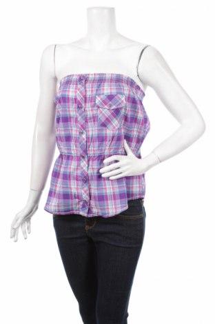 Дамска риза Moodo, Размер L, Цвят Многоцветен, 100% памук, Цена 16,96лв.