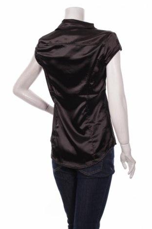 Дамска риза Moodo, Размер M, Цвят Черен, Полиестер, Цена 23,32лв.