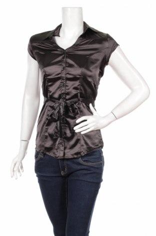 Дамска риза Moodo, Размер XS, Цвят Черен, Полиестер, Цена 23,32лв.