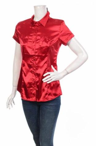 Γυναικείο πουκάμισο Moodo, Μέγεθος M, Χρώμα Κόκκινο, Πολυεστέρας, Τιμή 8,77€
