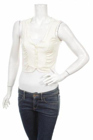 Дамски елек H&M, Размер S, Цвят Бял, Цена 6,80лв.