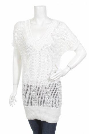 Дамски пуловер Flame, Размер M, Цвят Бял, 55% полиакрил, 45% памук, Цена 8,97лв.