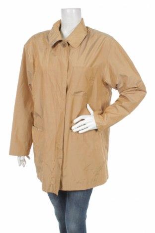 Дамско палто, Размер M, Цвят Бежов, 50% памук, 50% полиестер, Цена 12,50лв.