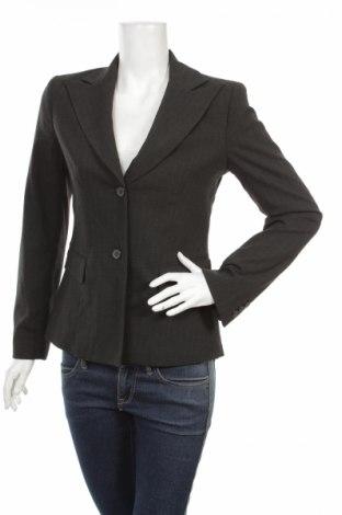 Дамско сако Hennes, Размер S, Цвят Сив, 65% полиестер, 32% вискоза, 3% еластан, Цена 7,20лв.